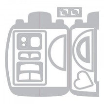 Fold-A-Long Camera Die Set. Sizzix Thinlits CLEARANCE image 2