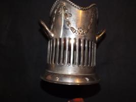 international silver company utensil/bottle holder, silver plate. - €27,80 EUR