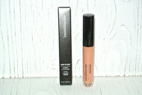 Primary image for bareMinerals GEN NUDE Patent Lip Lacquer Gloss #LIFEGOALS Full SZ new bare