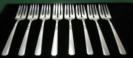 "1935 CAPRI 1881 Rogers Oneida Silverplate 6 3/8"" Salad Forks Flatware Se... - $14.99"