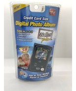Digital Photo Album Wallet Pix As Seen On TV Displays 58 Photos NEW SEALED - $188.99