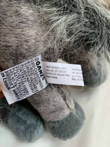 WEBKINZ Plush Gray Arabian Horse, GANZ Toy, Used, Nice Condition  image 8