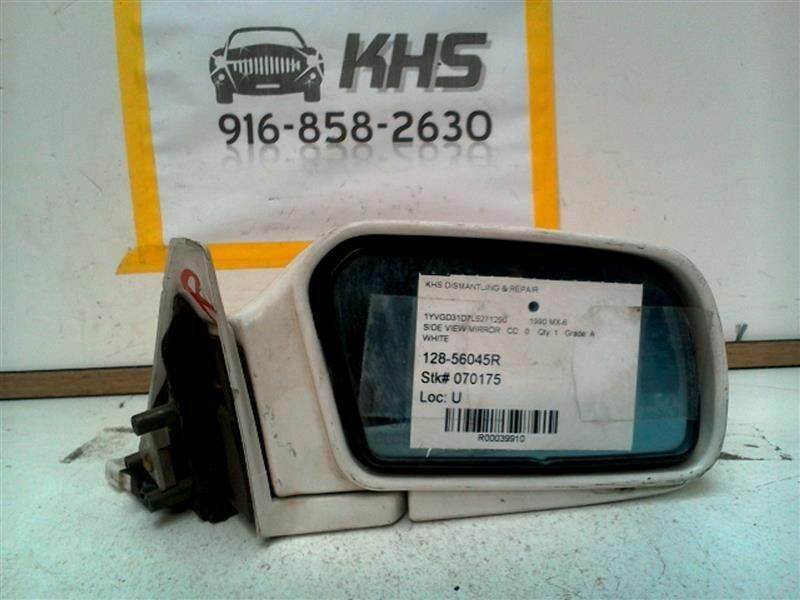 Primary image for Passenger Right Side View Mirror Power Fits 90-92 MAZDA MX-6 39910