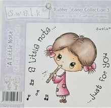 """S.W.A.L.K. Rubber Stamp Collection 3 """"A Little Note"""" SWST3-NOTE"""