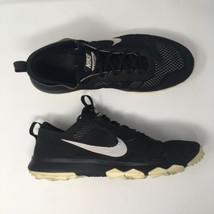 Nike Sz 13 FI Bermuda Black Spikeless Golf Shoes 776121-002  - $41.28