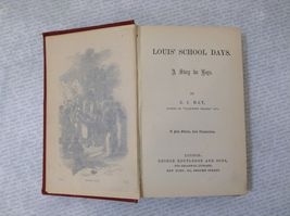 Louis' School Days A Story for Boys by E.J. May Hardcover Antique Book image 7