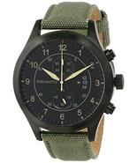 Szanto Men's SZ 1201 1200 Series Military Pilot Stainless Steel Watch W/... - $116.95