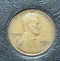 1929-S Lincoln Wheat Back Penny VF #0535 - $1.89