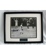 Carleton Fisk Autographed Picture Game 6 World Series 1975 Matted & Fram... - $157.21
