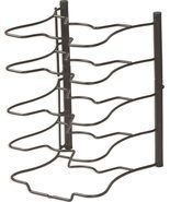 Kitchen Cabinet Pantry Pan and Pot Lid Organizer Rack Holder, Bronze - £23.48 GBP