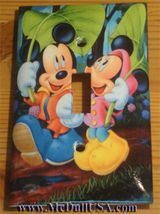 Mickey Minnie Mouse Light Switch Power Outlet wall Cover Plate & more Home decor image 4