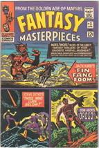 Fantasy Masterpieces Comic Book #2 Fin Fang Foom Marvel Comics 1966 VERY FINE - $35.69
