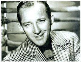 BING CROSBY Authentic  Original  SIGNED AUTOGRAPHED PHOTO w/ COA 1189 - $225.00