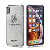 iPhone X / XS Horoscope Cover Fashion Design Soft 3D Zodiac -    AQUARIUS - $6.99