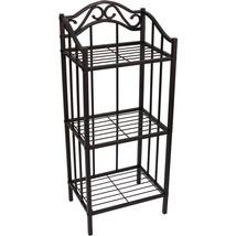 Metal Bathroom Shelf 3 Wire Rack Caddy Towel St... - $41.94