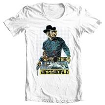 Westworld t-shirt vintage 1970s movie western sci fi film Futureworld tee shirt image 2