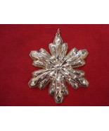 1974 Gorham Sterling Silver Snowflake Ornament in Box - $53.10