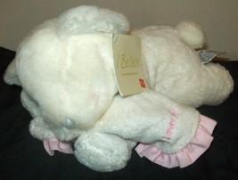 Russ Musical Lullaby White & Pink JESUS LOVES ME Wind Up Lamb Lovie Baby... - $14.95
