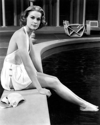 Grace kelly poster 24x36 in swimsuit