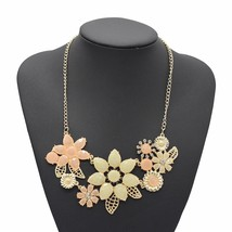 ADOLPH Jewelry 2014 New Vintage Jewelry Flower Choker  Shourouk Charm Rh... - $6.23