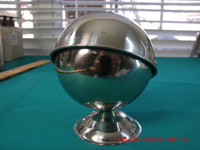 20 oz STAINLESS STEEL ROLL TOP SUGAR BOWL