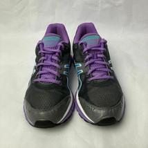 Womens Asics Gel Flash Running Training Black/ Purple Shoes size 7 T2J5N - $33.64