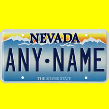 1/43-1/5 scale custom license plate set any brand RC/model car - Nevada ... - $11.00