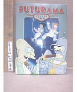Futurama Season 2 DVD TV Series 4 Disc Box Set TESTED Sci-Fi Animated Co... - $7.29