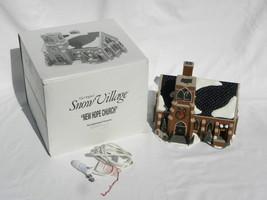 "1997 Dept. 56 Snow Village Christmas ""New Hope Church"" Building w/Box - $29.99"