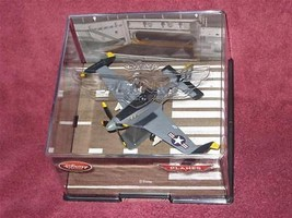 DISNEY STORE NAVY DUSTY the PLANE (VF-17) in Collector's Case BRAND NEW. - $17.59