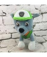 Nickelodeon Paw Patrol Rocky Mini Plush Stuffed Animal Dog By Spin Maste... - $9.89