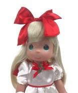 "Precious Moments Disney Parks Exclusive Alice Wonderland Christmas 12"" Doll - $37.36"