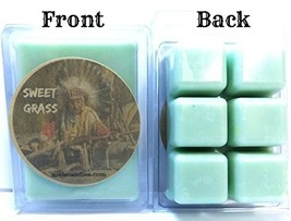 Sweet Grass 3.4 Ounce Pack of Soy Wax Tarts -(6 Cubes Per Pack) Scent Br... - $3.96