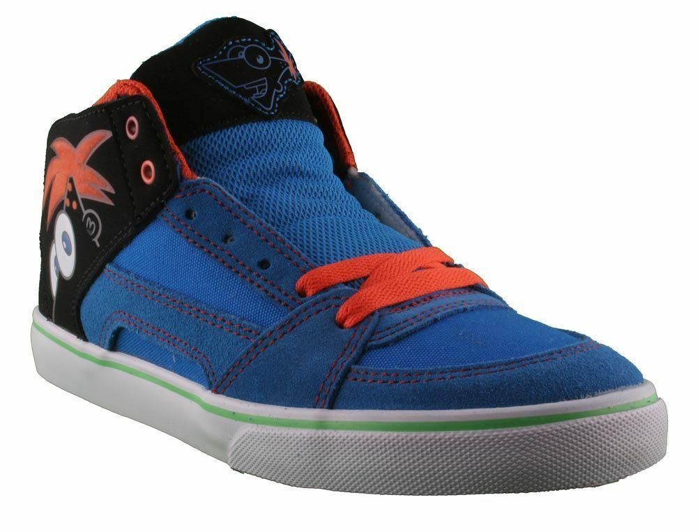 Etnies Disney Kids RVM Vulc Blue Black Shoes