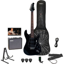Electric Guitar Sawtooth ES Series Rockin Beginner\'s New - $223.28