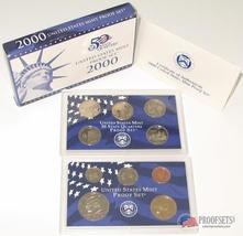2000-S U.S. Mint Clad  Proof Coin Set GEM Proof  - $39.95