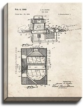 Easy Bake Oven Patent Print Old Look on Canvas - $69.95+