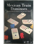 Spinmaster Cardinal Games Mexican Train Dominoes Game Ages 8+ - $19.79