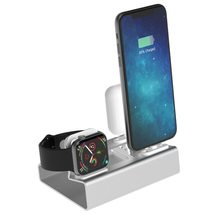 Charging Dock Apple Station Watch Iphone Stand Charger 3 Air Pods In1 Se... - $28.99