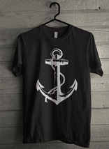 Vintage Style Anchor - Custom Men's T-Shirt (942) - $19.13+