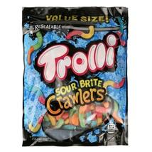 Trolli Sour Brite Crawlers Gummy Worms Bag, 28.8 Oz - $5.25