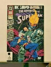 Adventures Of Superman Annual #4 1992 - $5.47