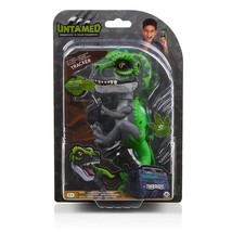 TRACKER Untamed Raptor Dinosaur T-Rex GREEN Dino WowWee Fingerlings NEW ... - $24.99