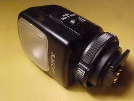 Sony Video Light #HVL-S3D Flash Unit  - $12.95