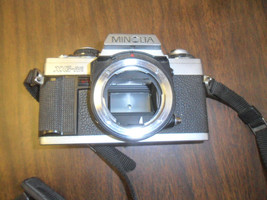 Minolta SLR film camera 35mm XG-M Five Star variable zoom SLR  F=28-80 3... - $30.00