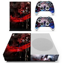 Devil May Cry 3 Dante's Awakening decal xbox one S console and 2 controllers - $15.00