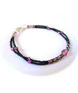 Bulimia Support Bracelet Mia MEN'S UNISEX Purpl... - $22.99