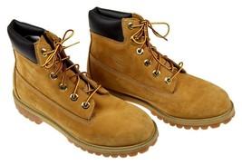 Boy'S Timberland Nubuck Wheat Boots Unisex 6 - $49.49