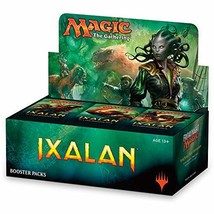 Magic: The Gathering Ixalan Booster Box | 36 Booster Packs 540 Cards - $123.68