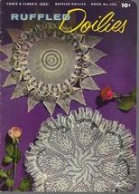 Ruffled Doilies Pattern Book 306 Coats & Clark's 1954 Vintage - $6.99